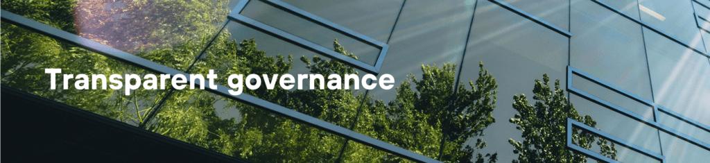 Transparent governance