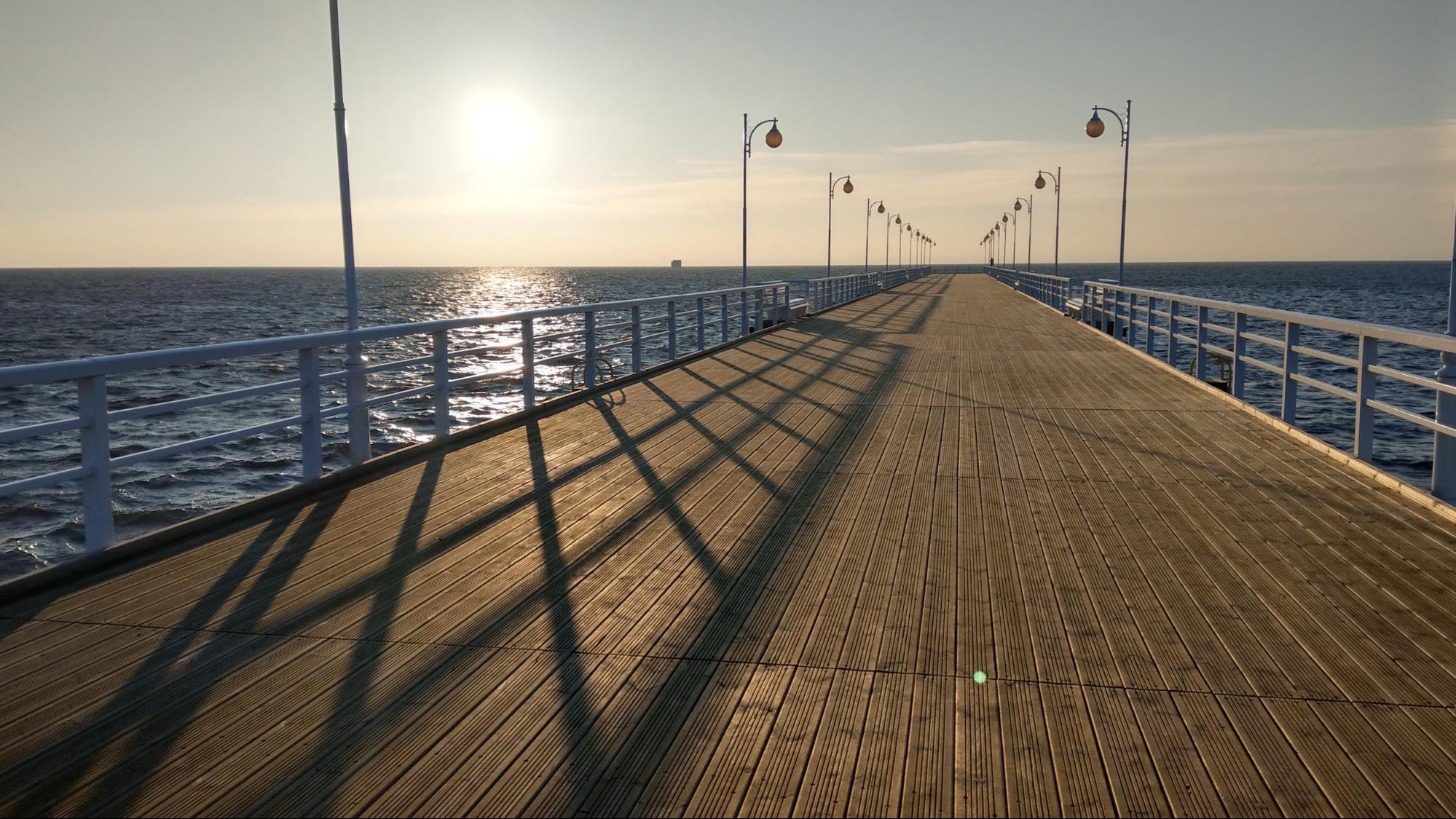 Sunny sunrise - Baltic sea