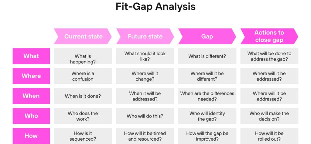 Fit-Gap Analysis