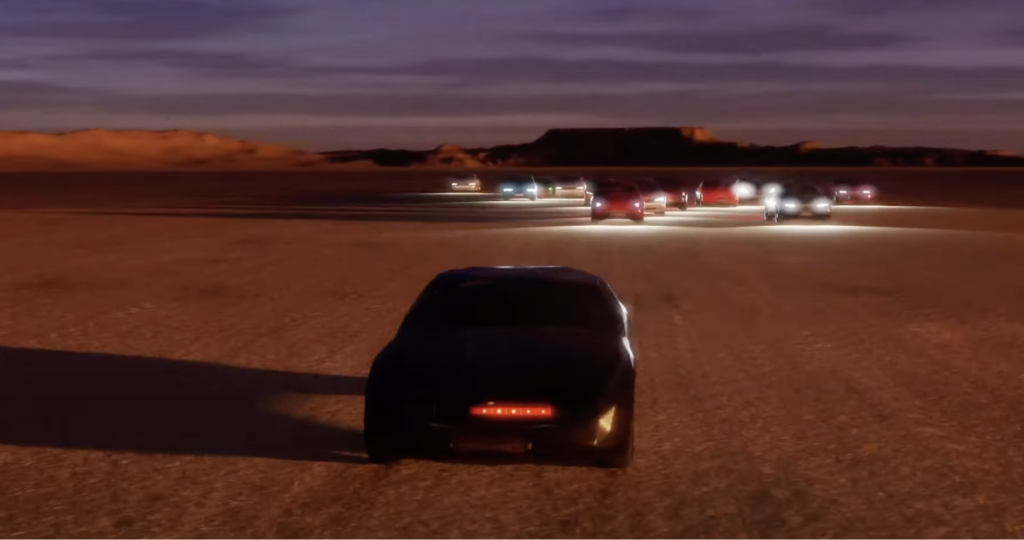 Knight Rider's car